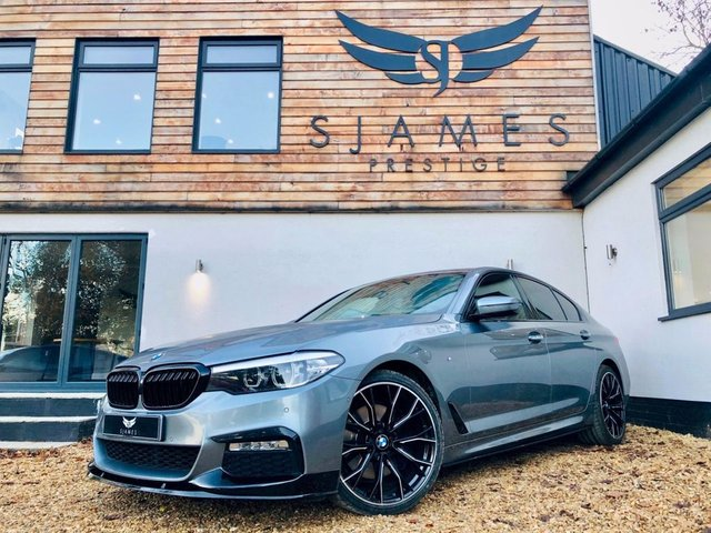 2018 18 BMW 5 SERIES 2.0 530E M SPORT 4d AUTO 249 BHP
