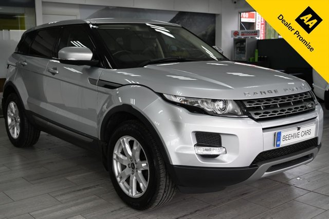 USED 2013 63 LAND ROVER RANGE ROVER EVOQUE 2.2 SD4 PURE 5d AUTO 190 BHP ESTATE
