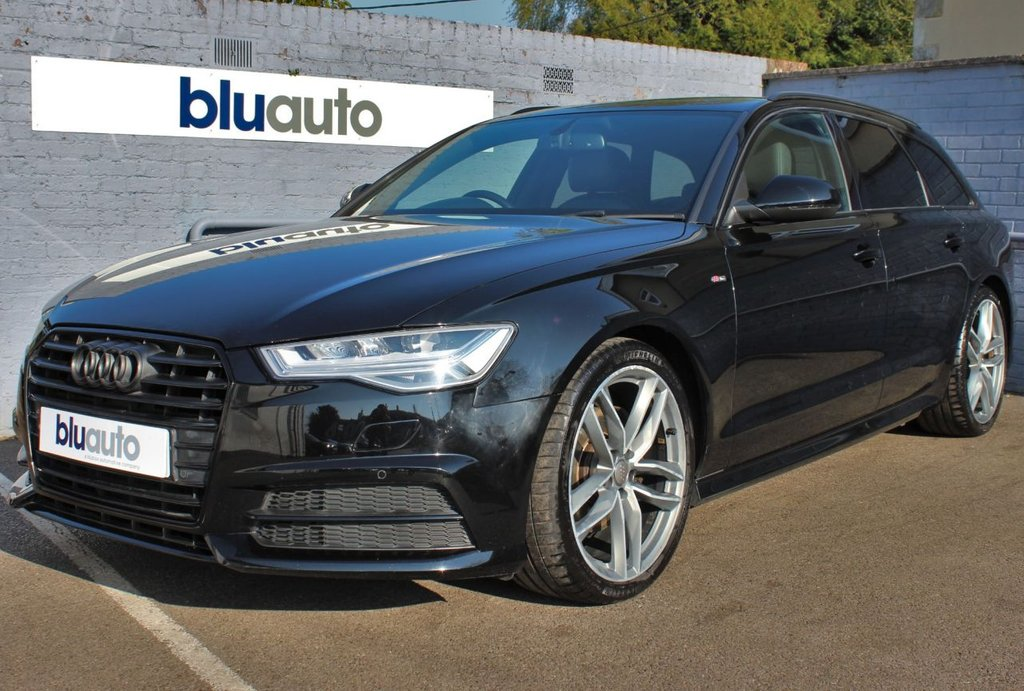 USED 2015 15 AUDI A6 2.0 AVANT TDI ULTRA BLACK EDITION 5d 188 BHP 2 Owners, Audi Servicing, Huge Specification, Low Running Costs