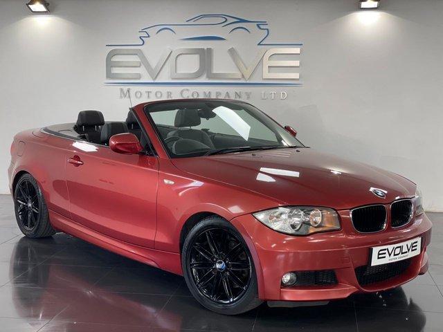 2010 10 BMW 1 SERIES 2.0 118D M SPORT 2d 141 BHP
