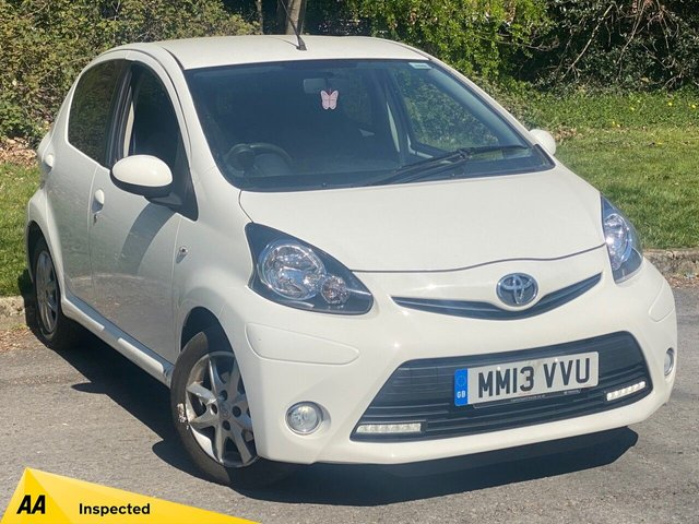 USED 2013 13 TOYOTA AYGO 1.0 VVT-I MODE 5d 68 BHP LOW MILEAGE STARTER CAR