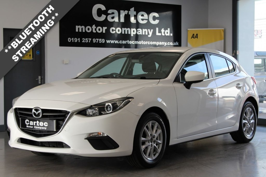 USED 2015 65 MAZDA 3 2.0 SE 5d 118 BHP ***BLUETOOTH STREAMING***