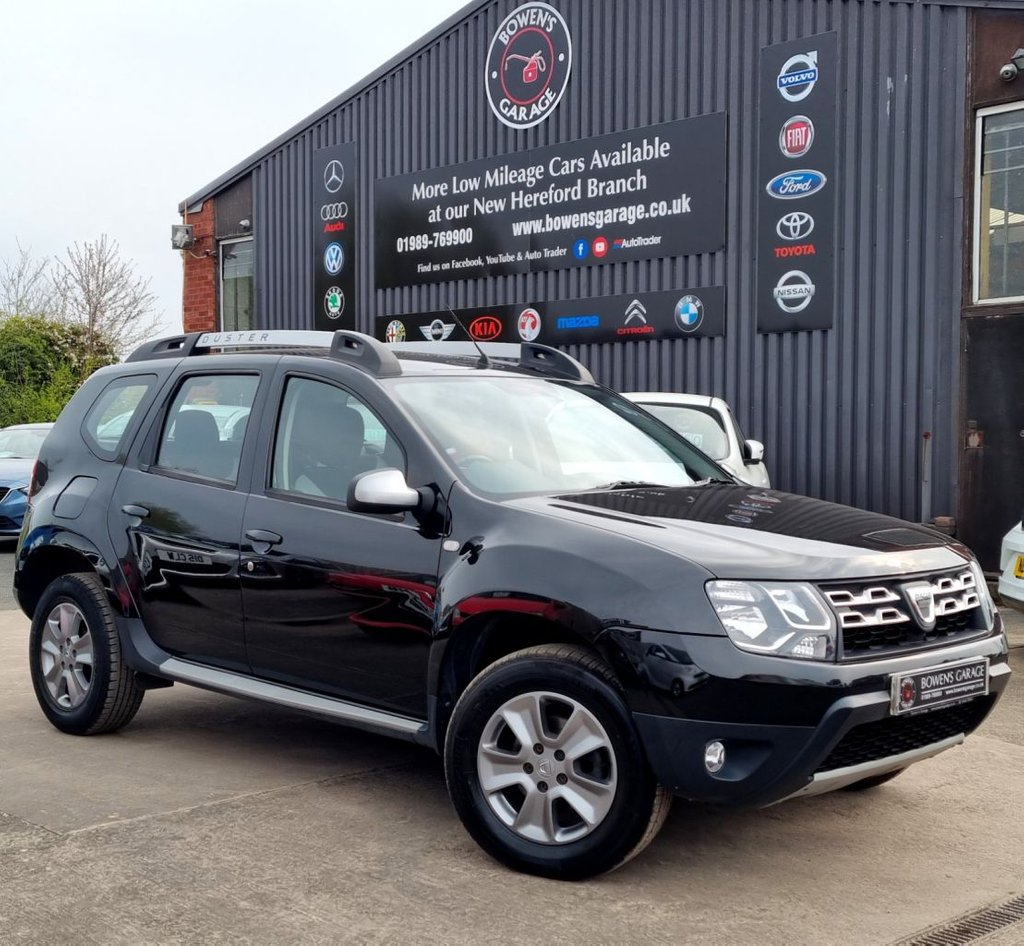 USED 2016 16 DACIA DUSTER 1.5 LAUREATE DCI 4X4 5D 109 BHP 2 Owners - Low Miles - 4 Services - Rare 4X4