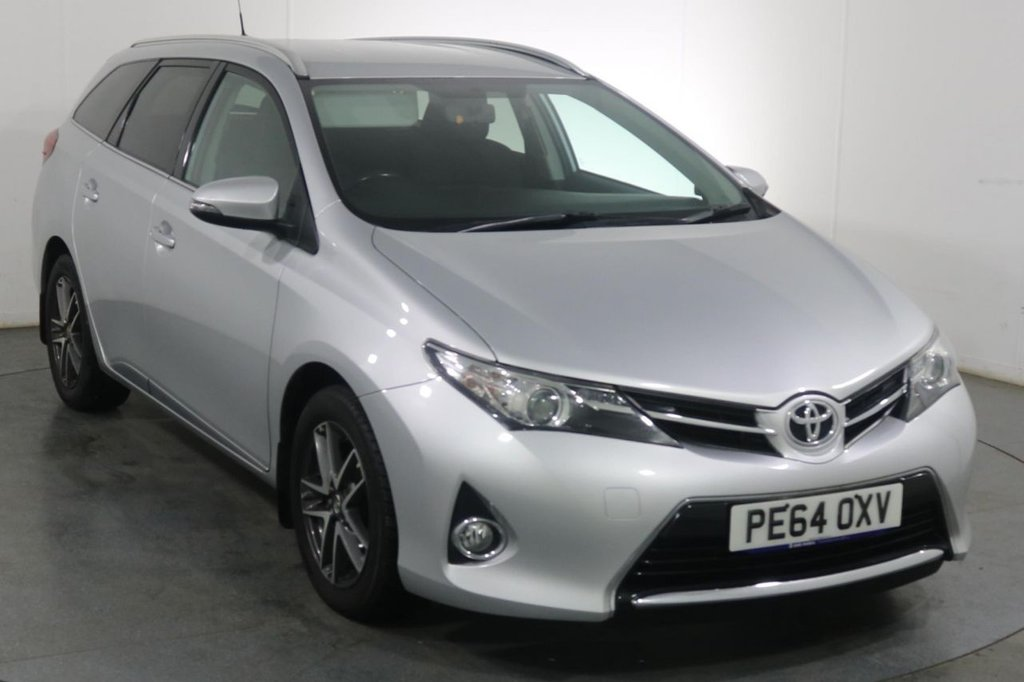 USED 2014 64 TOYOTA AURIS 1.6 VALVEMATIC ICON PLUS ESTATE 5d 130 BHP Demo and 2 OWNERS with 7 Stamp SERVICE HISTORY