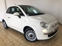 USED 2012 12 FIAT 500 1.2 LOUNGE 3d 69 BHP Ready to Finance and Drive Away Today 2 Former Keepers