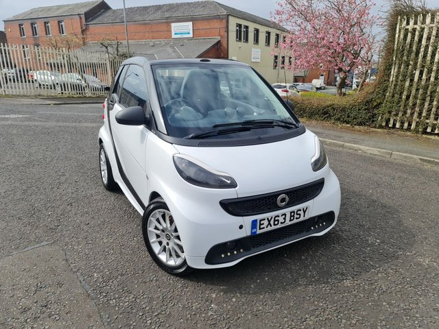 USED 2013 63 SMART FORTWO CABRIO 1.0 PULSE MHD 2d 71 BHP A GREAT RELIABLE SMART
