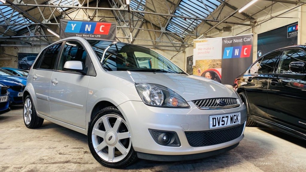 USED 2007 57 FORD FIESTA 1.25 Zetec Climate 5dr VERYTIDY+16'S+GREATCARS+TINTS
