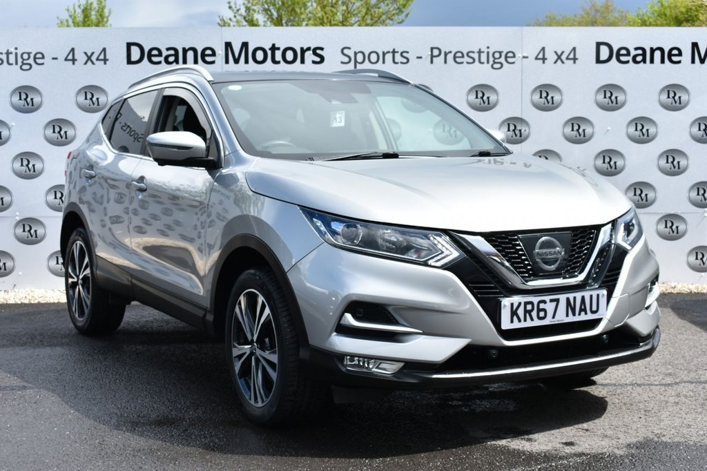 USED 2017 67 NISSAN QASHQAI 1.5 N-CONNECTA DCI 5d 108 BHP PANROOF