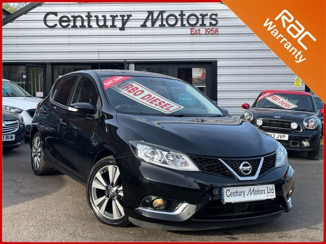 2015 15 NISSAN PULSAR 1.5 DCi N-TEC 5dr - UPGRADE ALLOYS