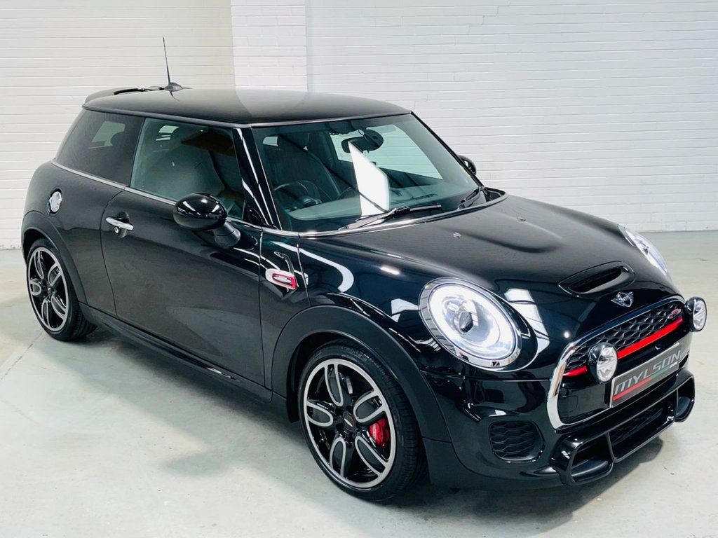 USED 2016 66 MINI HATCH JOHN COOPER WORKS 2.0 JOHN COOPER WORKS 3d 228 BHP Media XL|Yours Lounge Leather|AA Inspected|PX + FINANCE