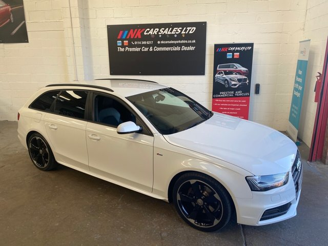 USED 2013 13 AUDI A4 2.0 AVANT TDI BLACK EDITION 5d 174 BHP TIMING BELT AND WATER PUMP DONE