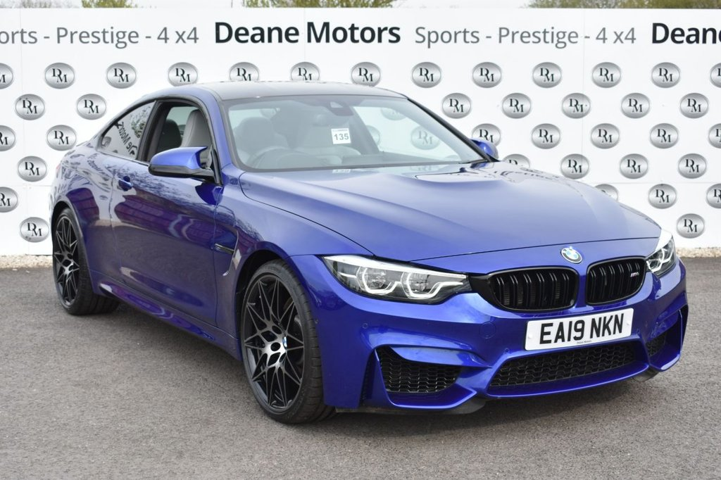 USED 2019 19 BMW M4 3.0 M4 COMPETITION 2d 444 BHP
