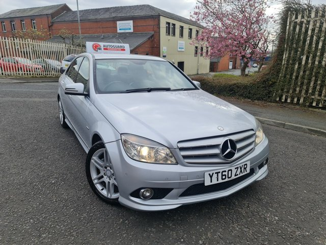 USED 2010 60 MERCEDES-BENZ C-CLASS 2.1 C250 CDI BLUEEFFICIENCY SPORT 4d 204 BHP A GREAT AUTOMATIC