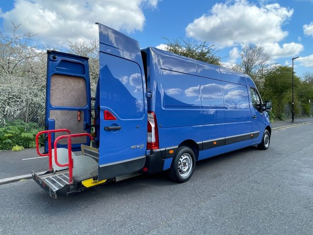 USED 2015 15 VAUXHALL MOVANO 2.3CDTI F3500 123 BHP LWB HIGH ROOF L3 H2 PANEL VAN WITH TAILLIFT 1 OWNER+UNDERSLUNG TAILLIFT+