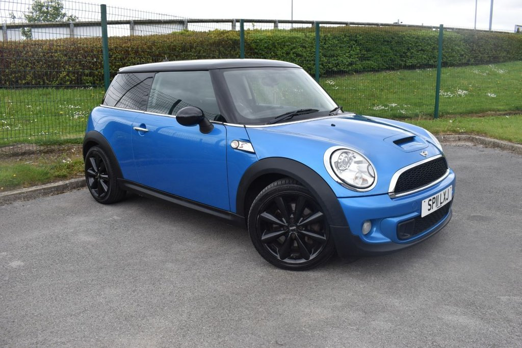 USED 2011 11 MINI HATCH COOPER 1.6 COOPER S 3d 184 BHP