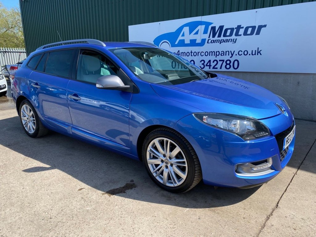 USED 2012 12 RENAULT MEGANE 1.6 dCi GT Line TomTom Sport Tourer (s/s) 5dr WE ARE OPEN BY APPOINTMENT