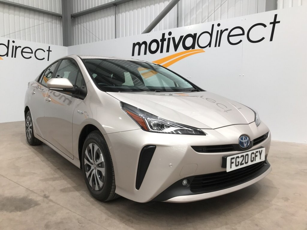 USED 2020 20 TOYOTA PRIUS 1.8 VVT-I BUSINESS EDITION PLUS 5d 121 BHP