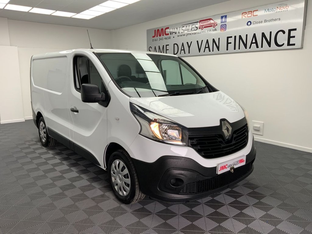 USED 2017 17 RENAULT TRAFIC 1.6 SL29 BUSINESS ENERGY DCI 125 BHP 1 OWNER FULL SERVICE HISTORY SAT NAV DRIVE AWAY WITHIN THE HOUR