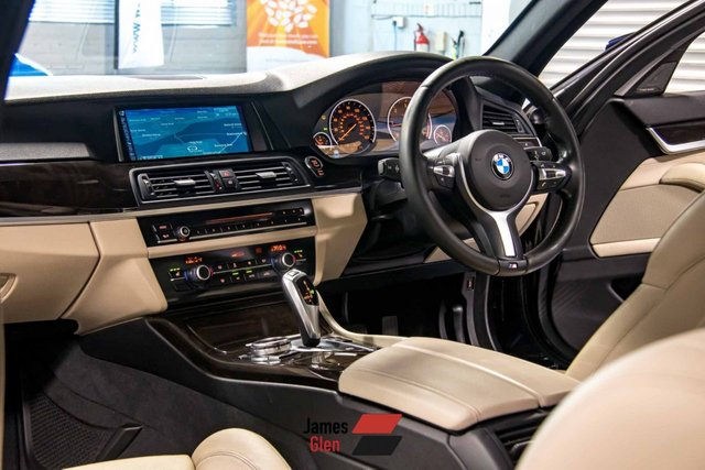 USED 2014 14 BMW 5 SERIES 2.0 520D M SPORT TOURING 5d 181 BHP Two Owners | Full Service History