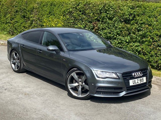 USED 2013 AUDI A7 3.0 TDI QUATTRO BLACK EDITION 5d 245 BHP