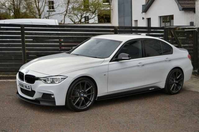 2016 66 BMW 3 SERIES 2.0 320D M SPORT 4d 188 BHP