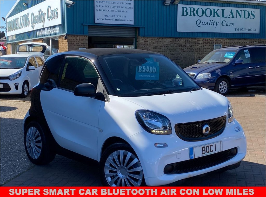 USED 2016 66 SMART FORTWO 1.0 PASSION 2d 71 BHP SUPER SMART CAR WITH BLUETOOTH AIR CON LOW MILES