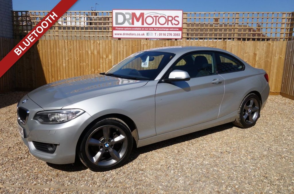 USED 2014 14 BMW 2 SERIES 2.0 218D SE 2d 141 BHP *** 6 MONTHS NATIONWIDE GOLD WARRANTY ***