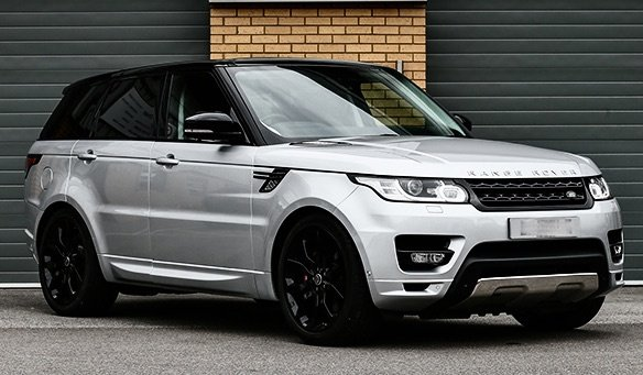 USED 2017 17 LAND ROVER RANGE ROVER SPORT 3.0 SD V6 HSE CommandShift 2 4X4 (s/s) 5dr £7k Extra's, Pan Roof, Stealth