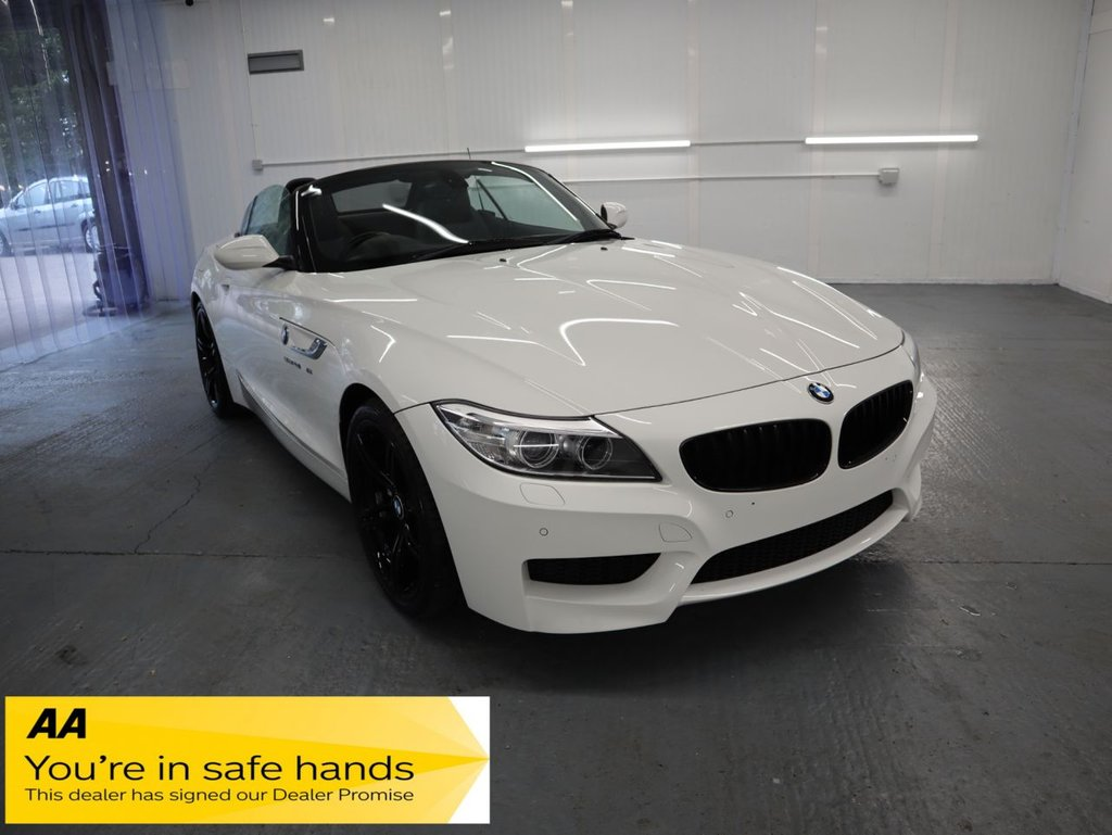 USED 2014 H BMW Z4 2.0 Z4 SDRIVE28I M SPORT ROADSTER 2d 242 BHP THIS IS THE 245 BHP S DRIVE 28i VERSION AND ITS STUNNING. GREAT LOOKING SPORTS CAR THATS FAST, AGILE AND USABLE