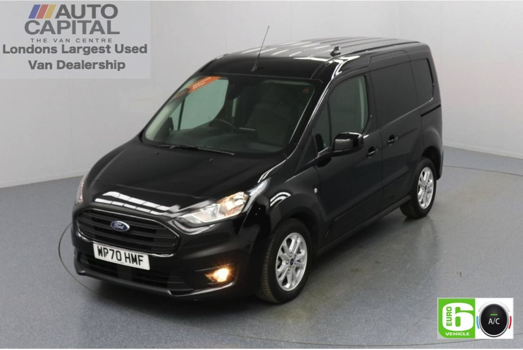 USED 2020 70 FORD TRANSIT CONNECT 1.5 200 Limited EcoBlue Auto 120 BHP L1 SWB 3 Seats Low Emission Automatic   Sat Nav   Reversing Camera   Air conditioning   Auto Start-Stop system   Rear parking distance sensors