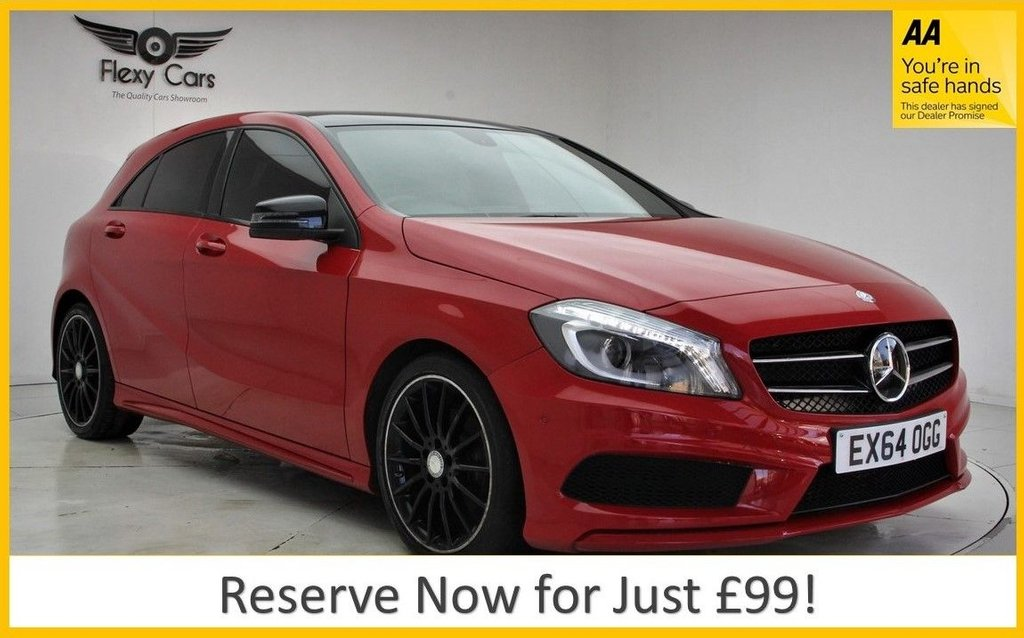 USED 2014 64 MERCEDES-BENZ A-CLASS 2.1 A200 CDI AMG SPORT 5d 136 BHP