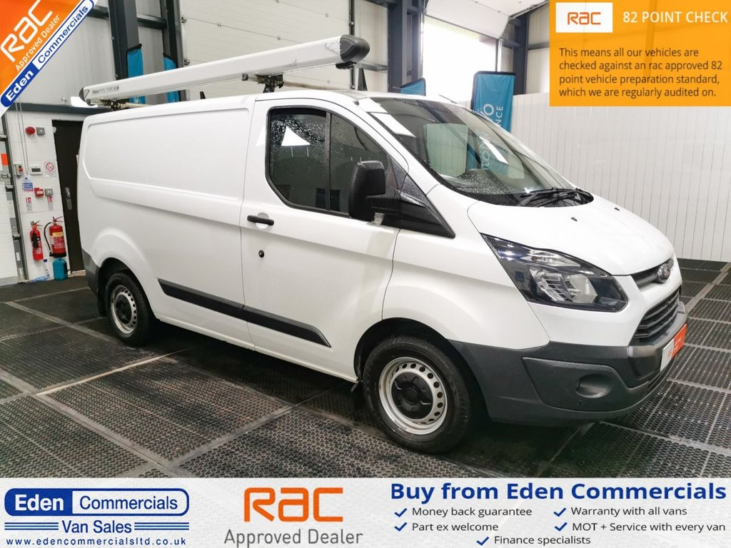 USED 2015 65 FORD TRANSIT CUSTOM 2.2 270 LR * ONE OWNER LOW MILES *