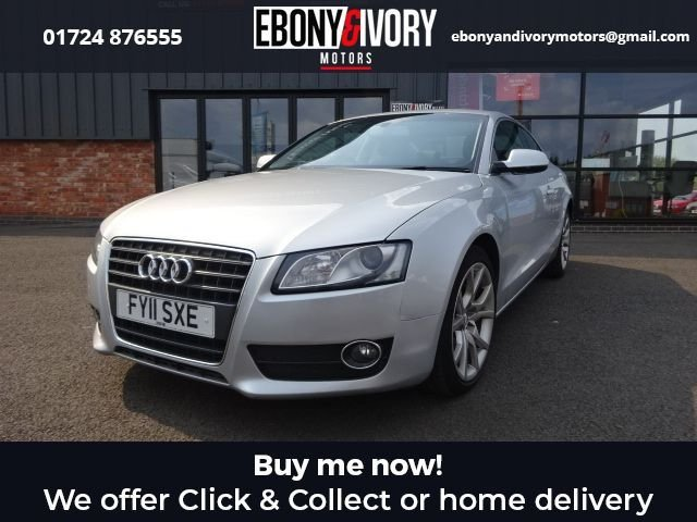USED 2011 11 AUDI A5 2.7 TDI SPORT 3d 187 BHP + FULL SERVICE HISTORY + 1 YEAR MOT AND BREAKDOWN COVER