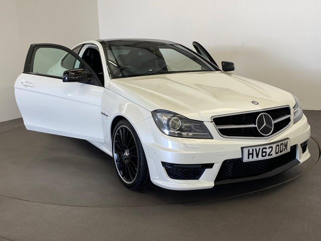 USED 2012 62 MERCEDES-BENZ C-CLASS 6.2 C63 AMG 2d 457 BHP Sensational performance , £12030 5 Star Factory options,  Non Turbo 6.3 V8 AMG Hardcore , Becoming collectable this vehicle is one to cherish and enjoy