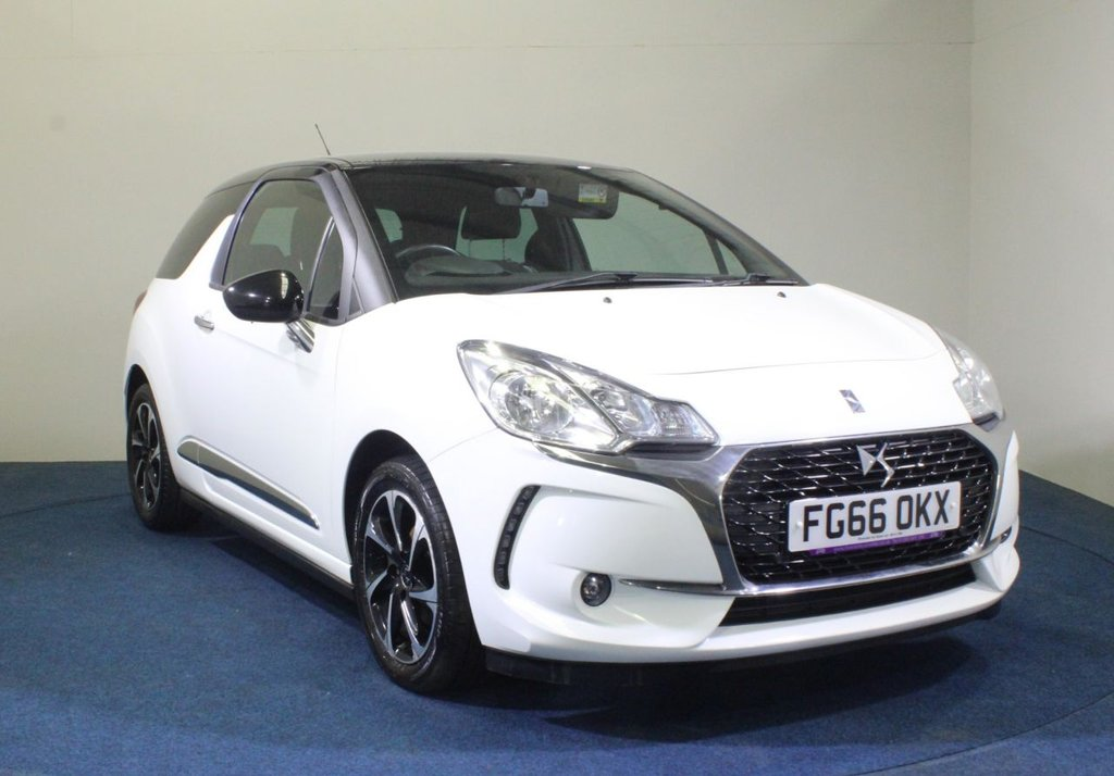 USED 2016 66 DS DS 3 1.6 BLUEHDI ELEGANCE S/S 3d 98 BHP