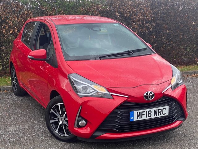 USED 2018 18 TOYOTA YARIS 1.5 VVT-I ICON TECH 5d 110 BHP SATELLITE NAVIGATION, BLUETOOTH CONNECTION