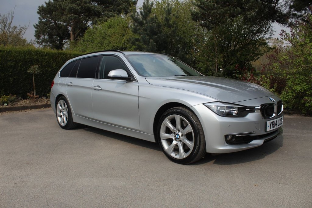 USED 2014 14 BMW 3 SERIES 3.0 330D LUXURY TOURING 5d 255 BHP