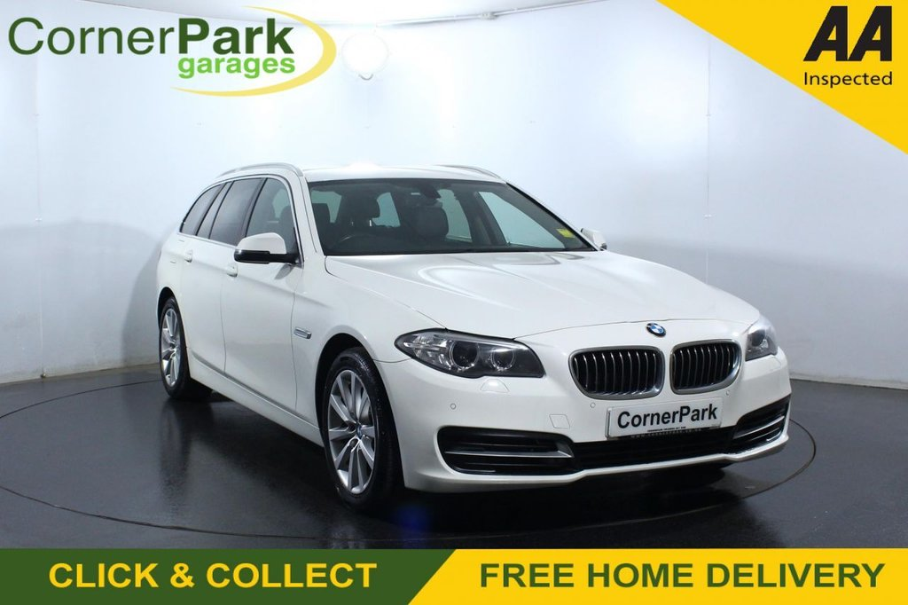 USED 2015 65 BMW 5 SERIES 2.0 520D SE TOURING 5d 188 BHP
