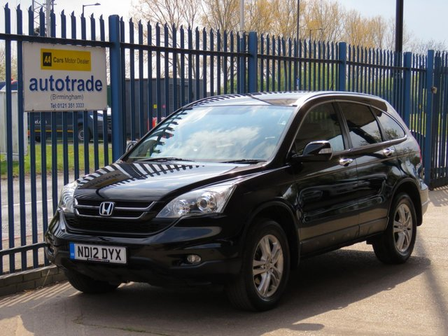 USED 2012 12 HONDA CR-V 2.0 I-VTEC SE PLUS 5d 148 BHP Climate control,Part Suede,.Rear Privacy Glass and folding mirrors