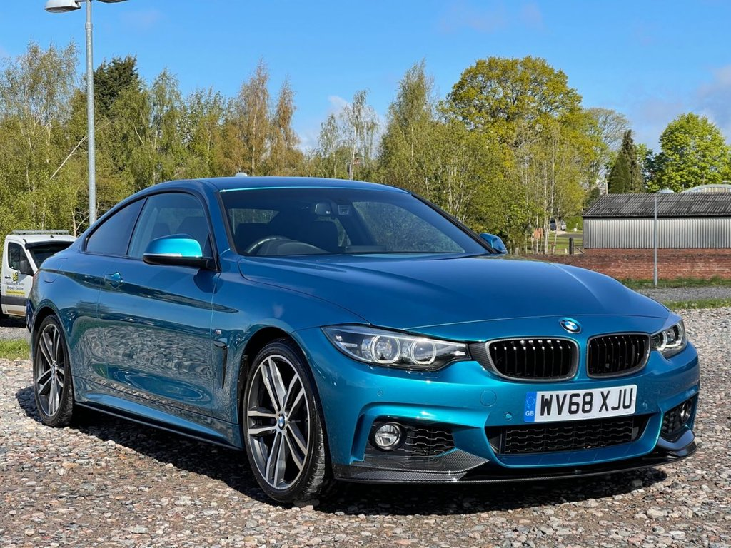 USED 2018 68 BMW 4 SERIES 3.0 440I M SPORT 2d 322 BHP Free Next Day Nationwide Delivery