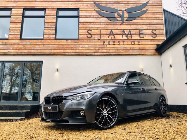 2017 67 BMW 3 SERIES 3.0 330D M SPORT TOURING 5d AUTO 255 BHP