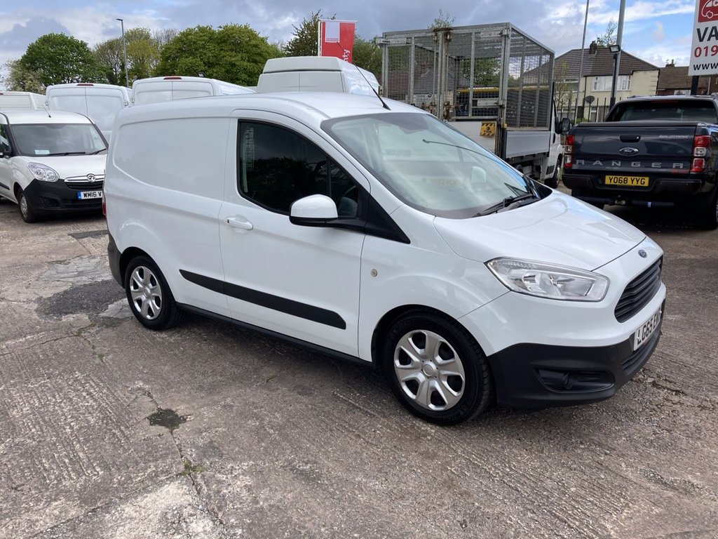 USED 2015 65 FORD TRANSIT COURIER 1.5 TREND TDCI 74 BHP 1 OWNER FSH NEW MOT AIR CON RACKING FREE WARRANTY INCLUDING RECOVERY AND ASSIST NEW MOT AIR CONDITIONING RACKING
