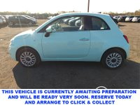 USED 2016 66 FIAT 500 1.2 LOUNGE 3d 4 Seat Lovelt Hatchbach in a Very Rare Colour with Spec including Air Con Rear Parking Sensors DAB Bluetooth Panoramic Glass Roof 1 Former Keeper + Full Service History