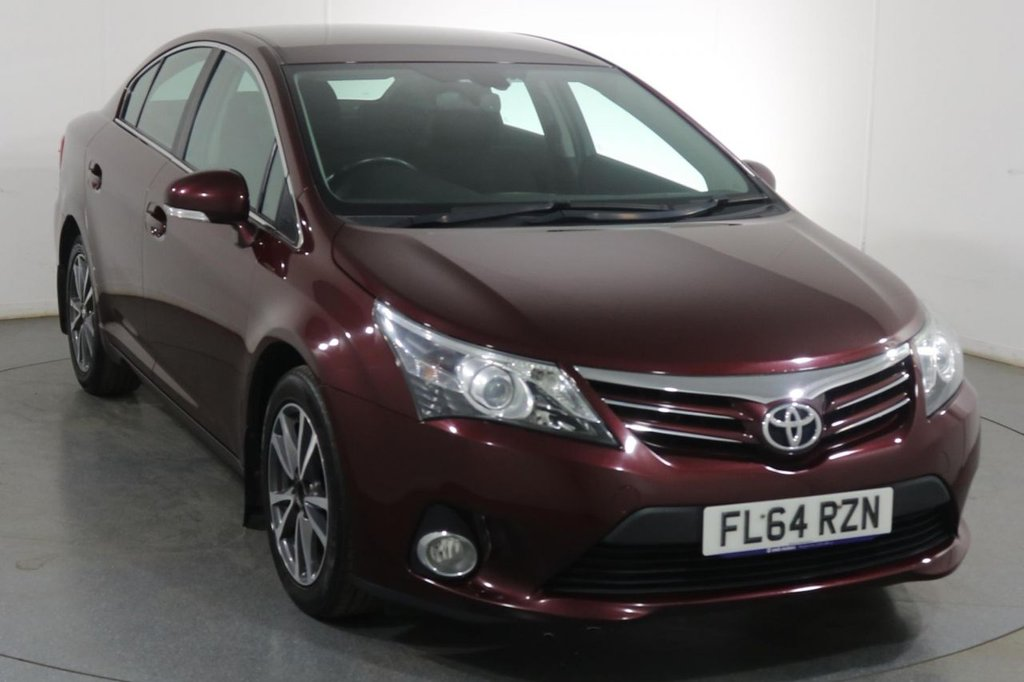 USED 2014 64 TOYOTA AVENSIS 2.0 D-4D ICON 4d 124 BHP 5 Stamp SERVICE HISTORY
