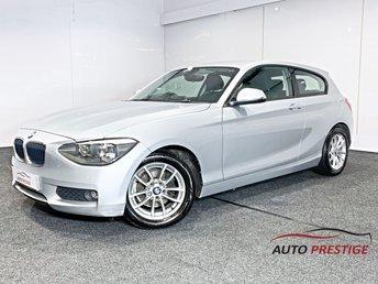 2013 BMW 1 SERIES 1.6 116D EFFICIENTDYNAMICS 3d 114 BHP £6750.00