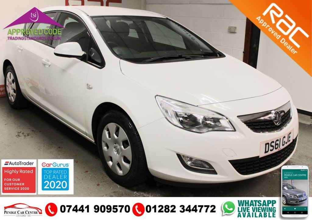 USED 2011 61 VAUXHALL ASTRA 1.7 EXCLUSIV CDTI 5d 108 BHP RAC PLATINUM WARRANTY INCLUDED + FULL HISTORY + LOW MILEAGE, LESS THAN 8K PER YEAR