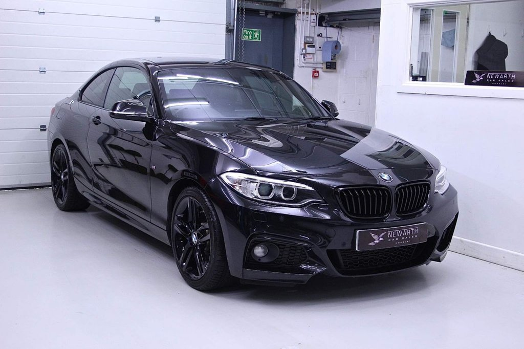 USED 2017 17 BMW 2 SERIES 2.0 220d M Sport Auto (s/s) 2dr ULTRA HIGH SPEC SEE LIST