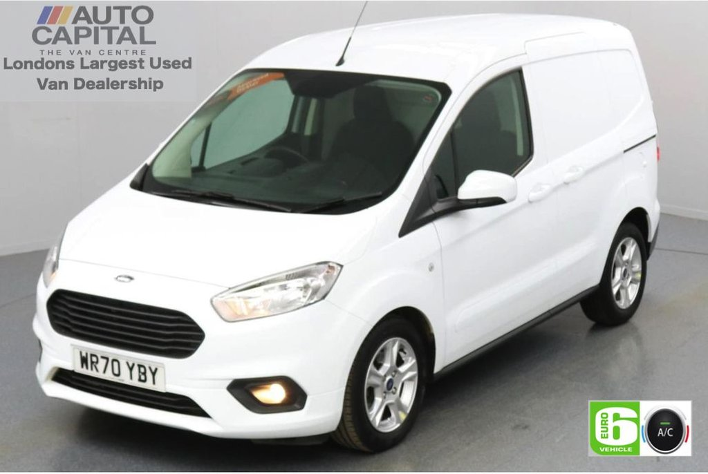 USED 2020 70 FORD TRANSIT COURIER 1.0 LIMITED 100 BHP Petrol Low Emission Apple CarPlay | Voice Control  | Rear parking distance sensors | Auto Start-Stop system
