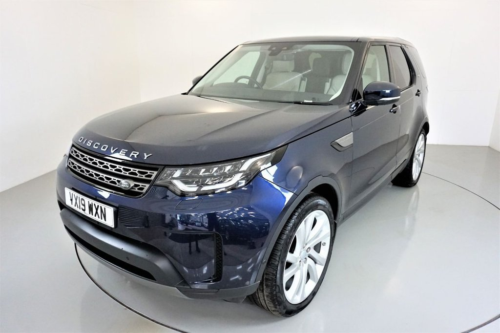 USED 2019 19 LAND ROVER DISCOVERY 5 3.0 SDV6 ANNIVERSARY EDITION 5d-RECENTLY SERVICED AT LANDROVER-7 SEATS-IVORY LEATHER-PANORAMIC ROOF-BLUETOOTH-CRUISE CONTROL-SATNAV-PARKING SENSORS-REVERSE CAMERA-DAB RADIO-MERIDIAN SOUND-POWER TAILGATE-ELECTRIC FOLDING MIRRORS-CLIMATE CONTROL