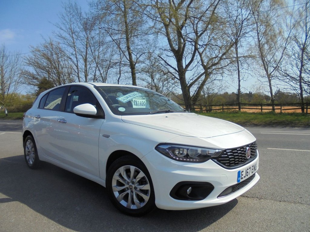 USED 2017 67 FIAT TIPO 1.4 EASY PLUS 5d 94 BHP